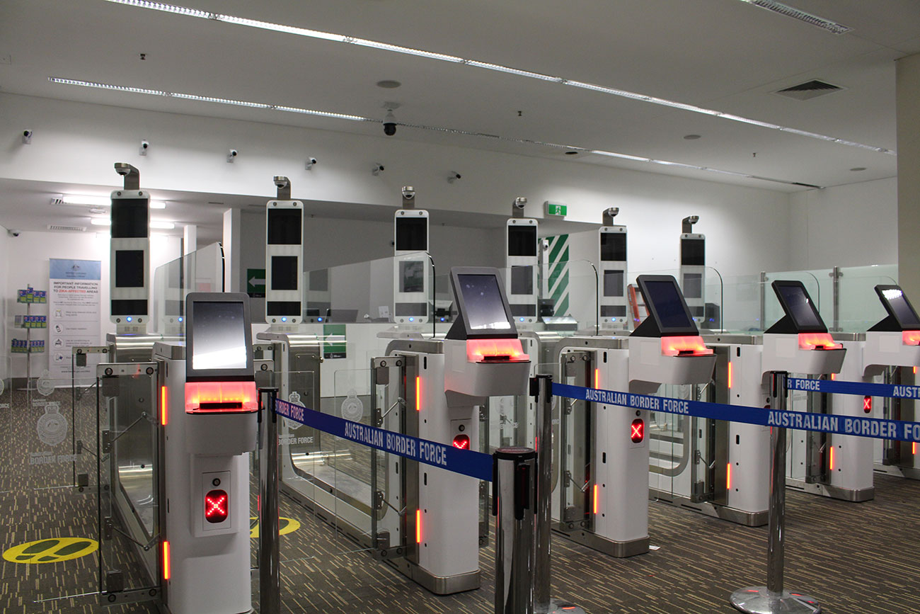 Chappell Adelaide Airport Smart Gates