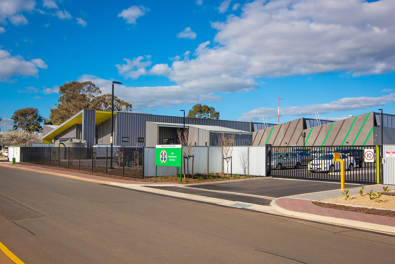 Chappell Builders - Northern Ambulance Station